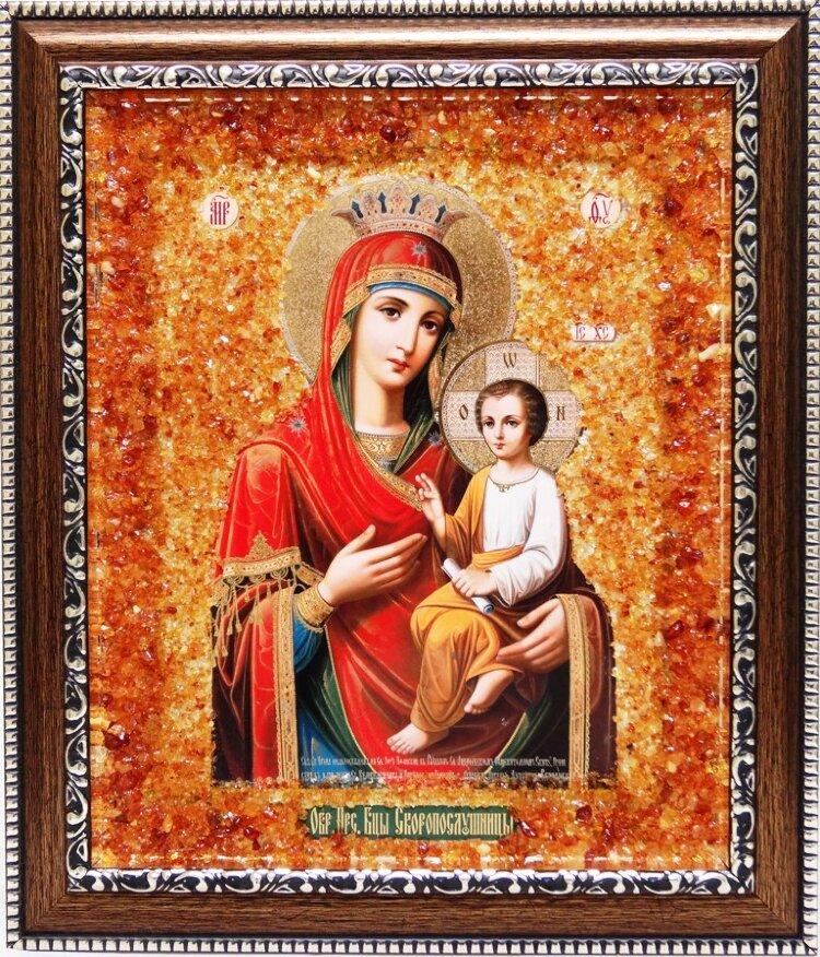 образ божией матери на янтаре маршрут